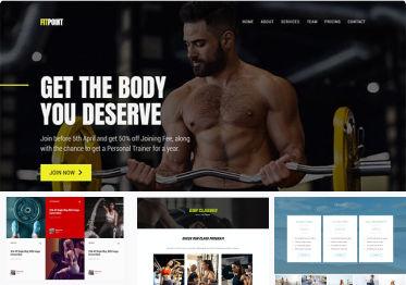 Sport & Fitness Template Kits.
