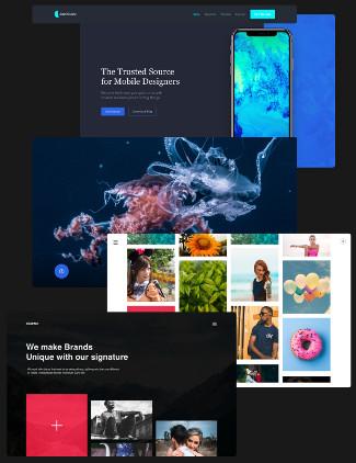 Website UI Kits