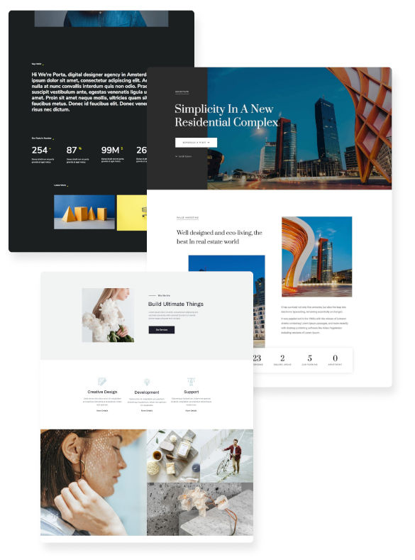 Page Template Kits