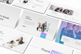 Thumbnail for Presentation Templates