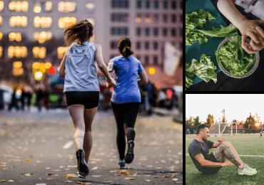 Ensemble de 3 images de Twenty20 affichant Santé et bien-être